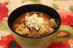 Lasagna Soup (Crock Pot)