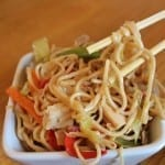 #86 Chicken and Spring Vegetable Lo Mein