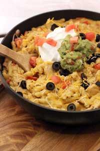 Cinco de Mayo Recipes - Chicken Enchilada Pasta