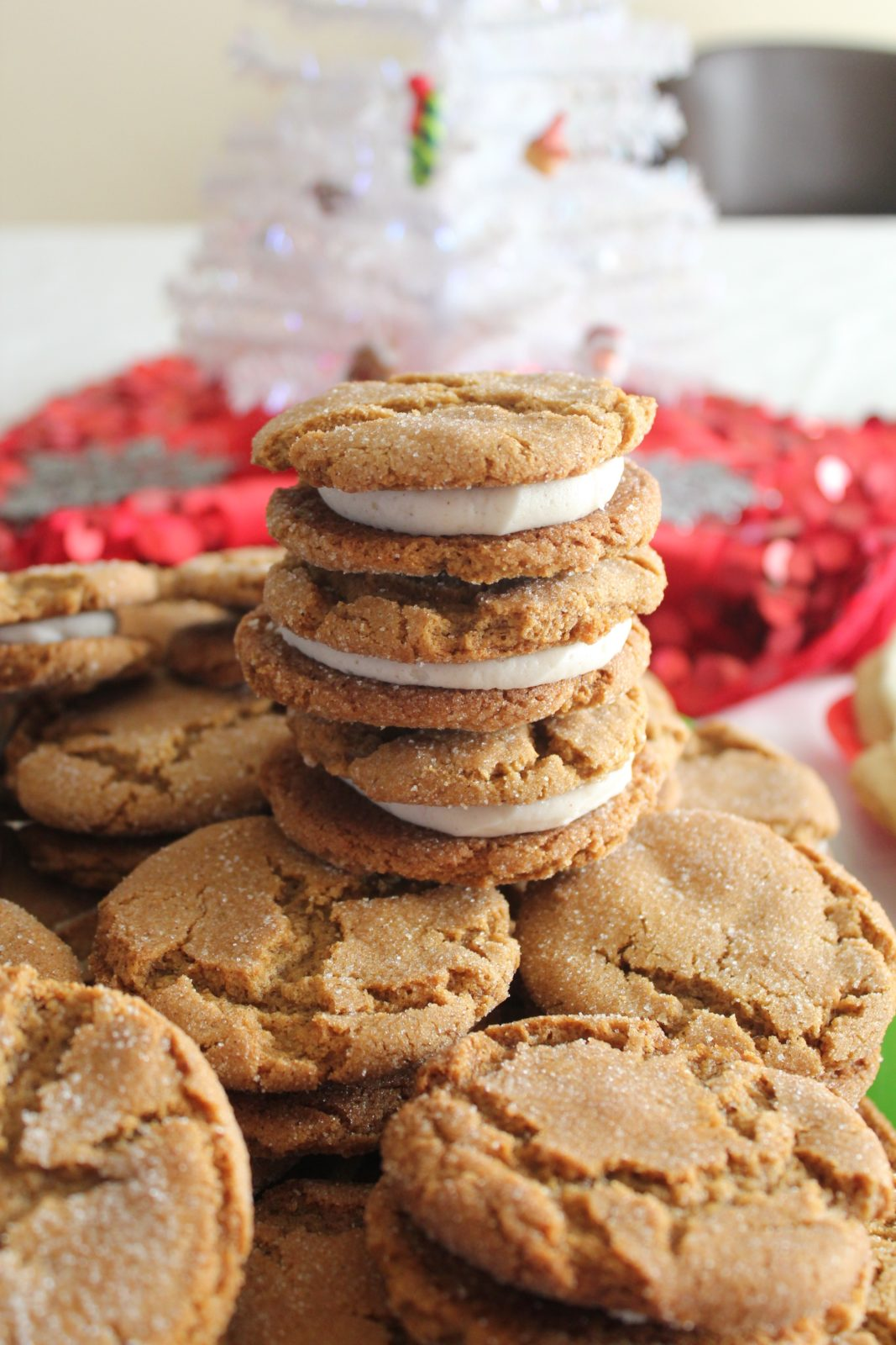 Soft Ginger Sandwich Cookies
