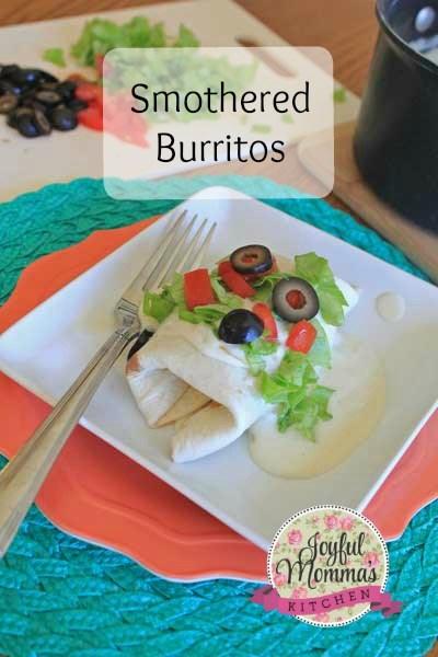 Cinco de Mayo Recipes: Smothered Burritos