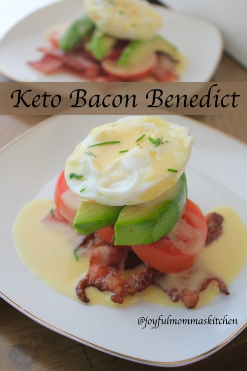 Keto Bacon Benedict