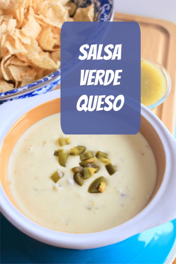 Top 3 Fiesta recipes - Salsa Verde Queso